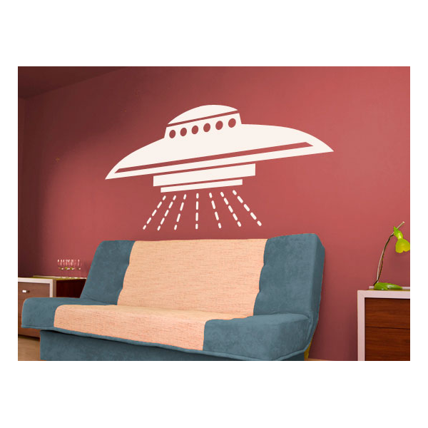 spaceship wall decals ufo stickers