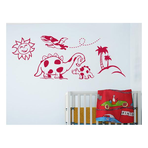 Pegatinas decorativas para bebes dinosaurios for Pegatinas decorativas para bebes