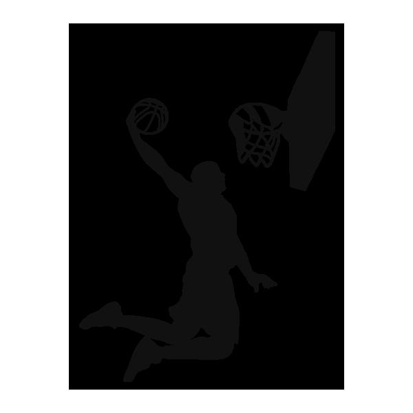Vinilos deportivos de pared baloncesto - Dibujos de vinilo para paredes ...