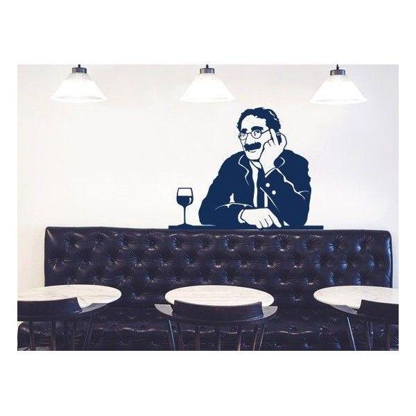 Pegatinas decorativas de paredes cine - Vinilos de cine ...