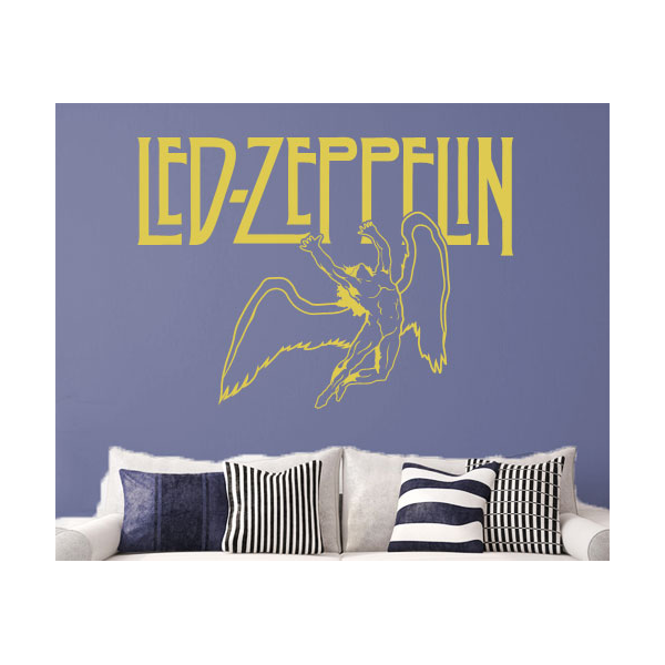 Legendary Rock Music Bands Music Wall Decals