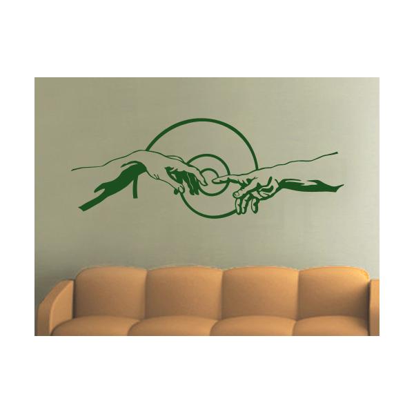 autocollants d coratifs de mur stickers religieux. Black Bedroom Furniture Sets. Home Design Ideas