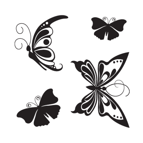 Mariposas en vinilos adhesivos de pared for Vinilos mariposas