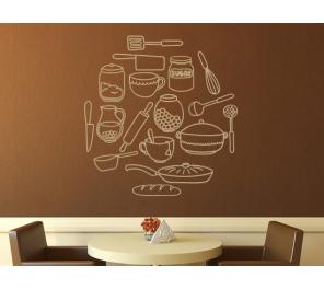 Pegatinas y vinilos decorativos cocina for Accesorios decorativos para cocina