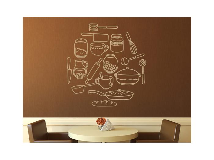Pegatinas y vinilos decorativos cocina for Articulos de cocina