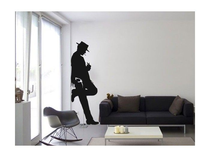 Movie Stickers And Silhouette Wall Decals Eastwood