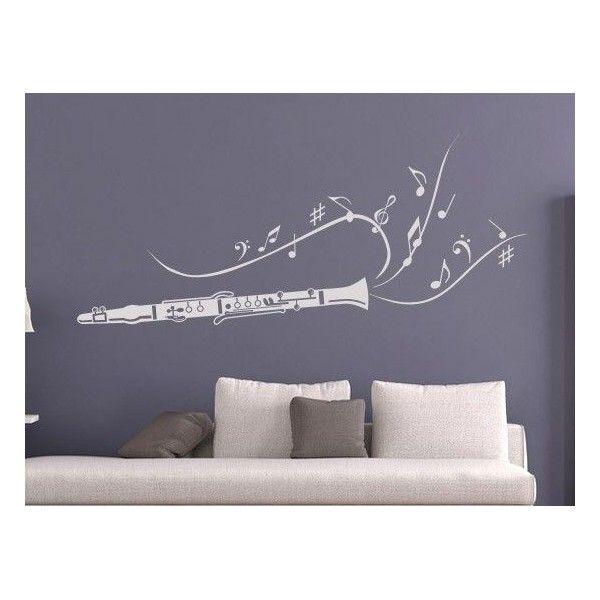 vinilos decorativos de instrumentos musicales