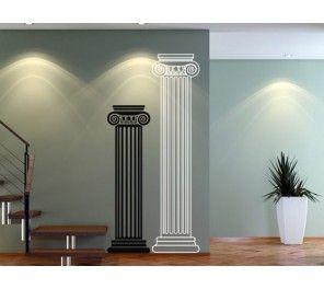 D corations de murs avec autocollants colonne romaine for Decoration romaine