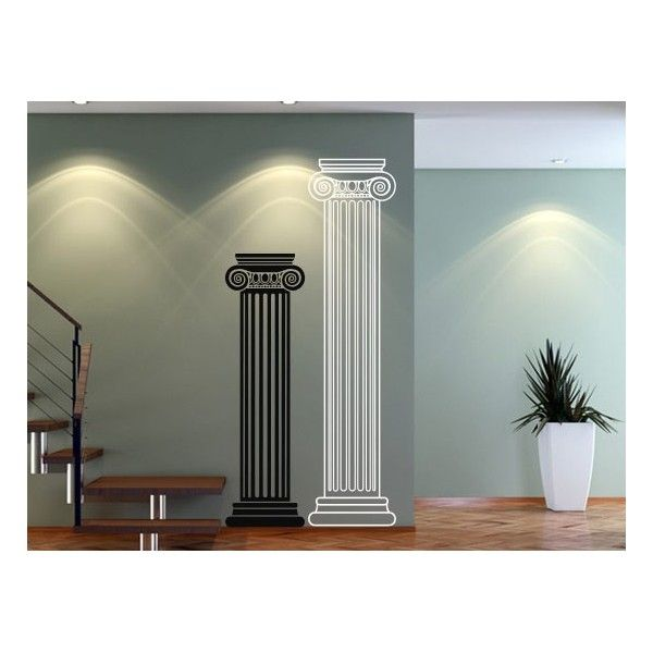 Roman Columns Wall Decals