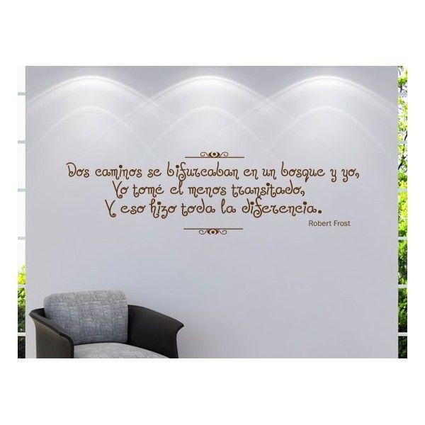 Frases Y Poemas En Vinilos Decorativos