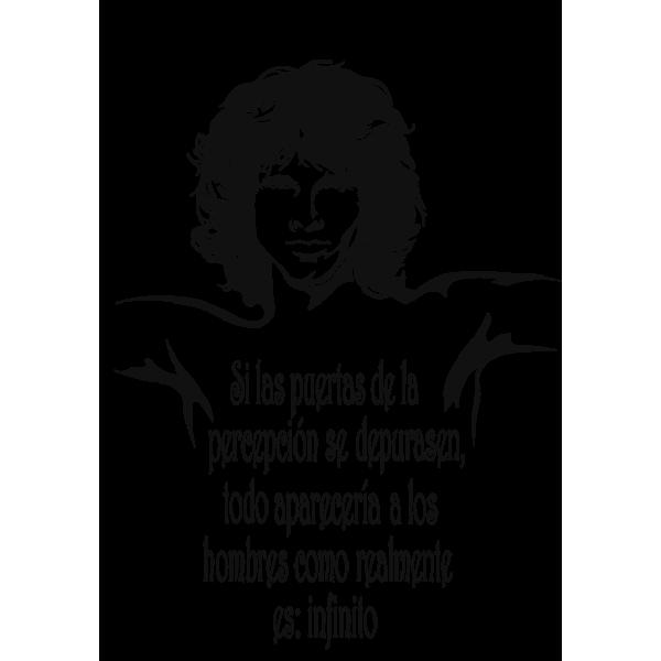 Jim Morrison 03 Spanish Vinilo Y Decoracion