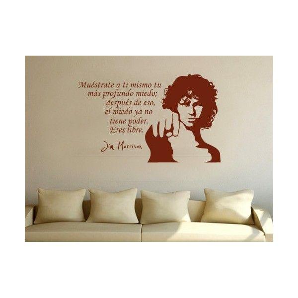 Jim Morrison Spanish Vinilo Y Decoracion