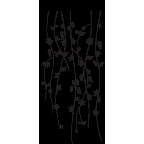 Vinilos decorativos pared florales - Imagenes de vinilos infantiles ...