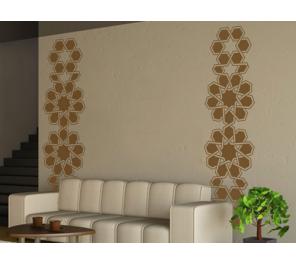 Figuras de circulos en vinilos decorativos for Vinilos decorativos dormitorio