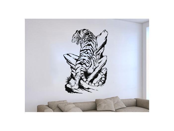 Pegatinas de pared con animales stickers tigres - Stickers decorativos ...