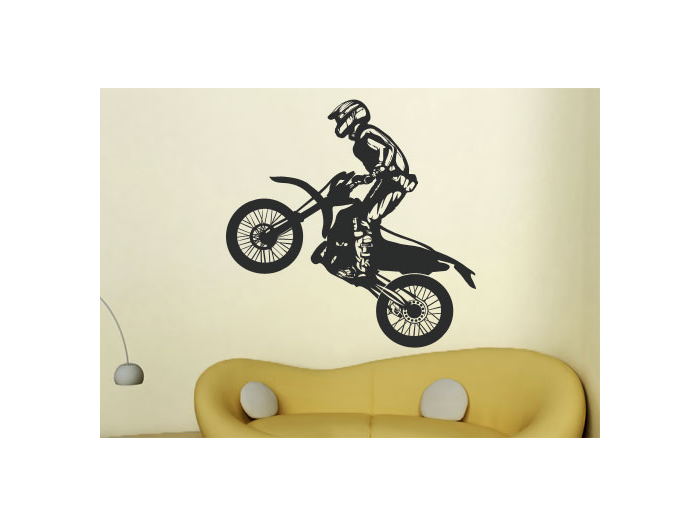 motorcycles and motocross wall decals and stickers decorations