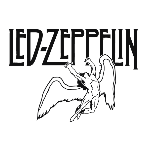 450 Pegatinas Musicales Led Zeppelin on led zeppelin